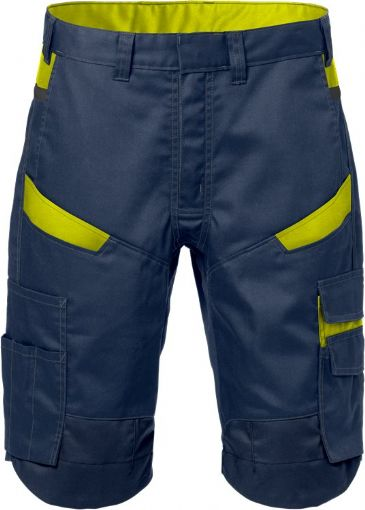Fristads Shorts  2562 STFP  (Navy/High Vis Yellow)